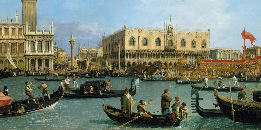 Canaletto, The Bacino on Ascension Day, Royal Collection Trust, © Her Majesty Queen Elizabeth II 2017