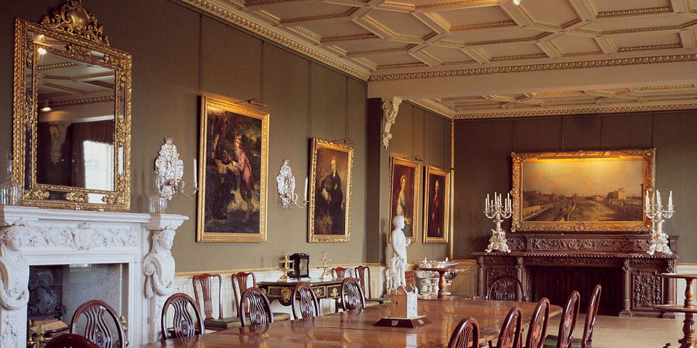 Selkirk, Bowhill House, The Dining Room